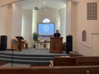 Pastor Kim Preaching ...